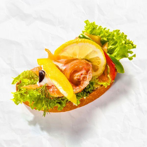 Lososový chlebíček