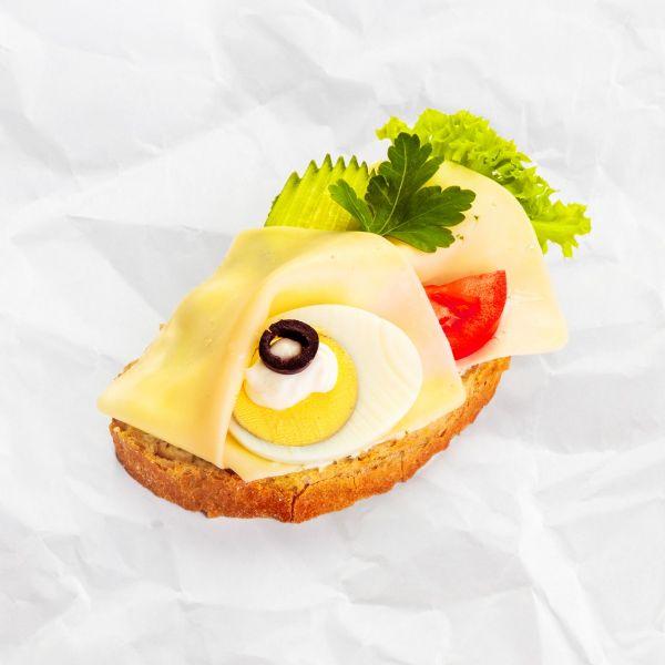 Syrový chlebíček