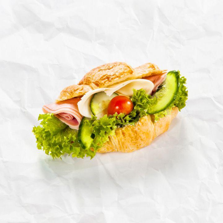 Croissant šunka-syr