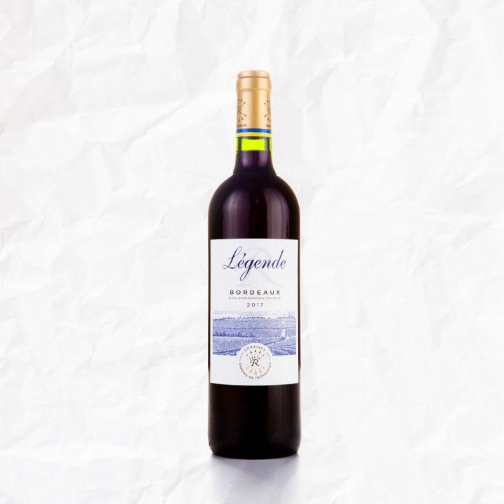 Červené víno BORDEUX